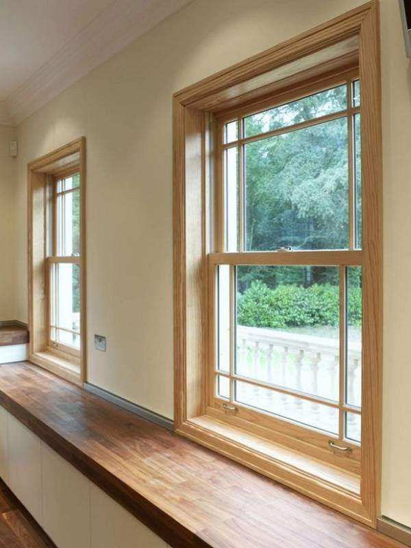 пластиковые окна деревянные подоконники фото недавно