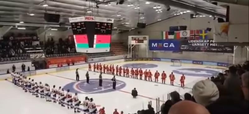 Вместо гимна Белоруссии на MECA Hockey Game прозвучали «Песняры»