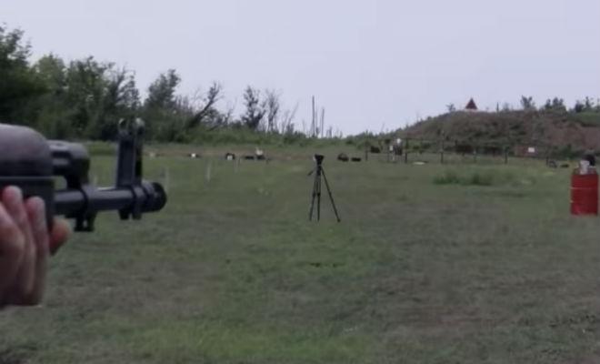 Сможет ли автомат прострелить БТР: проверка старой легенды броня,БТР,выстрел,Пространство,пуля
