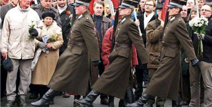В Столице Латвии прошло шествие легионеров СС
