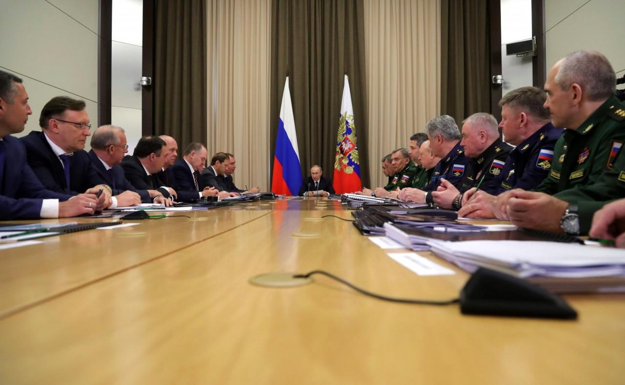 Совещание по вопросам формирования проекта госпрограммы вооружения