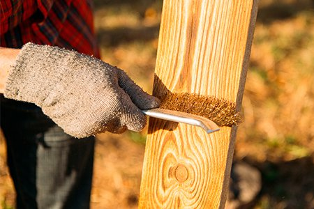 Диск для браширования древесины