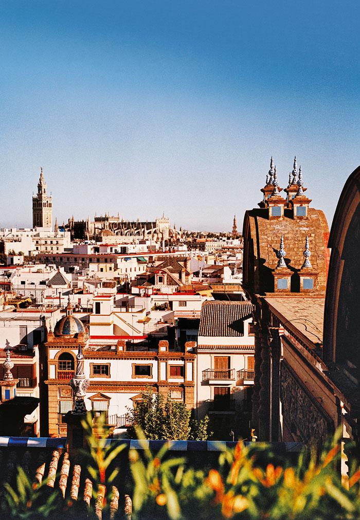 Новые места в испанской Севилье