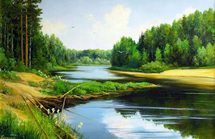 художник Сергей Курицын картины – 13