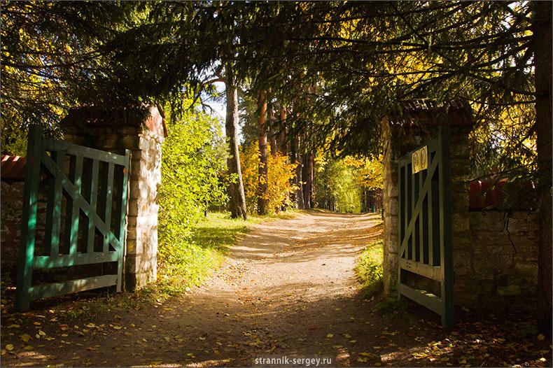 Место для влюбленных.Поленово: Золотая Осень
