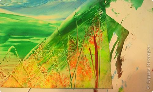 Картина, панно, рисунок, Мастер-класс Энкаустика: как я рисую утюгом Воск. Фото 15