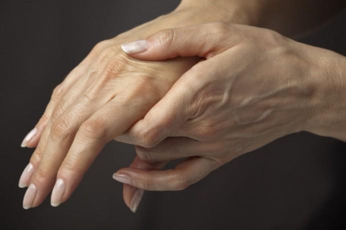 Против морщинистых рук ...