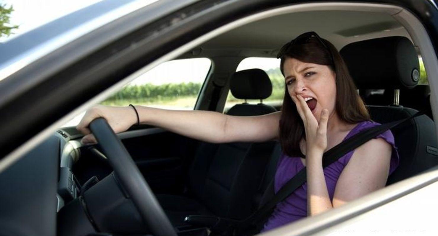 Вот почему за рулем часто хочется зевать и спать Исследования
