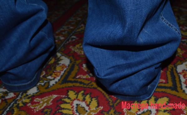 Подшиваем джинсы красиво - н…