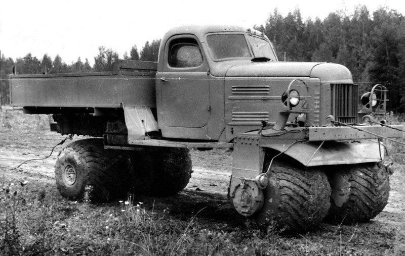 Не прошедшие испытания советские экспериментальные вездеходы ЗИЛ, КрАЗ и НАМИ