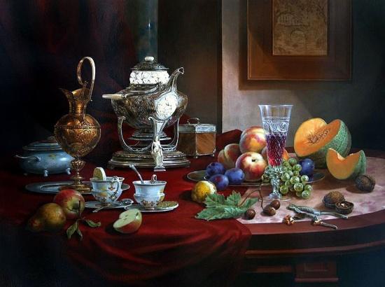 художник Gyula Boros (Дьюла Борос) картины – 02
