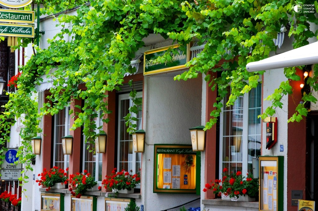 Рюдесхайм-на-Рейне - милый город в Германии