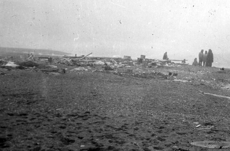 Перед обустройством лагеря Ада Блэкджек, арктика, интересно, история, познавательно, факты
