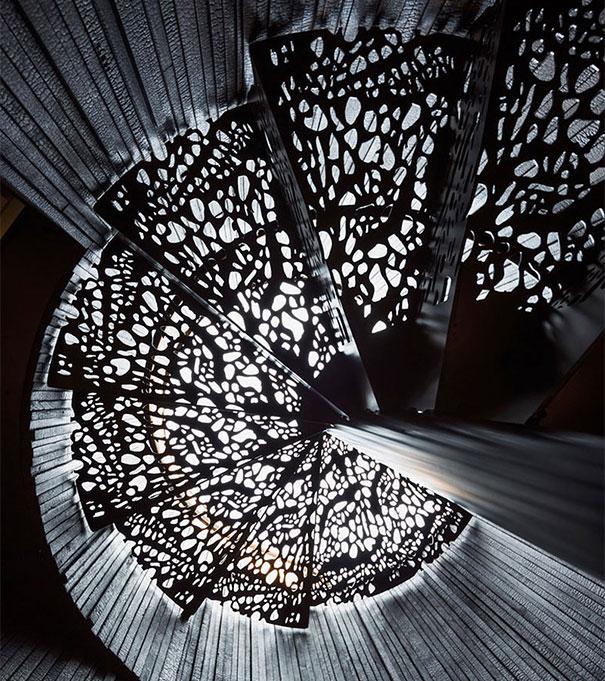 необычные лестницы дома