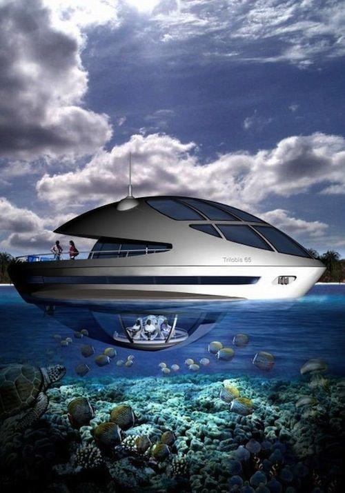 А также личные яхты архитектура, интересное, концептуальные фантазии, фабрик аидей
