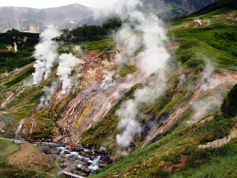 2. Долина гейзеров природа, россия, чудеса