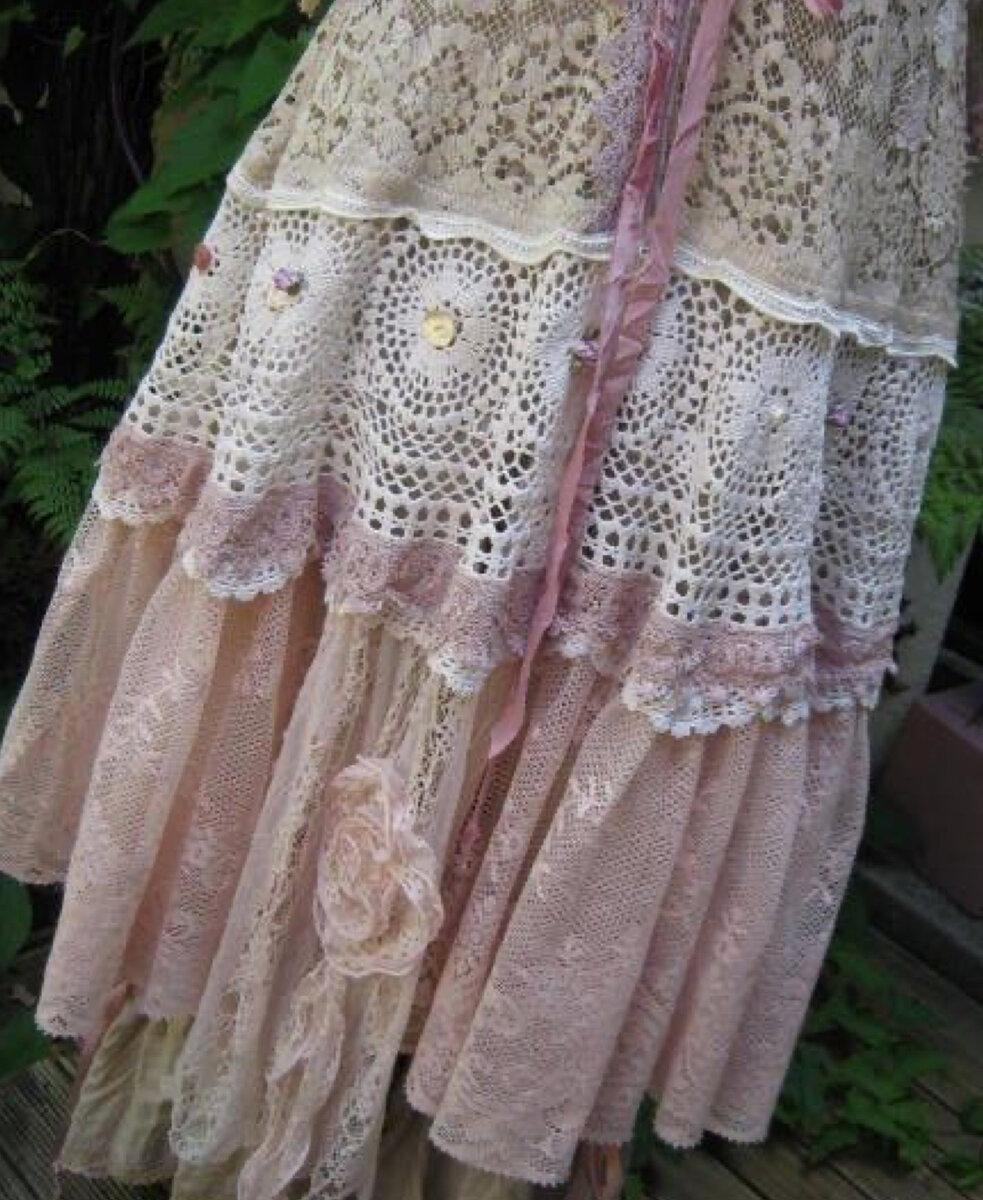 Бохо-шик на лето 2021: юбка своими руками, чудо-переделки