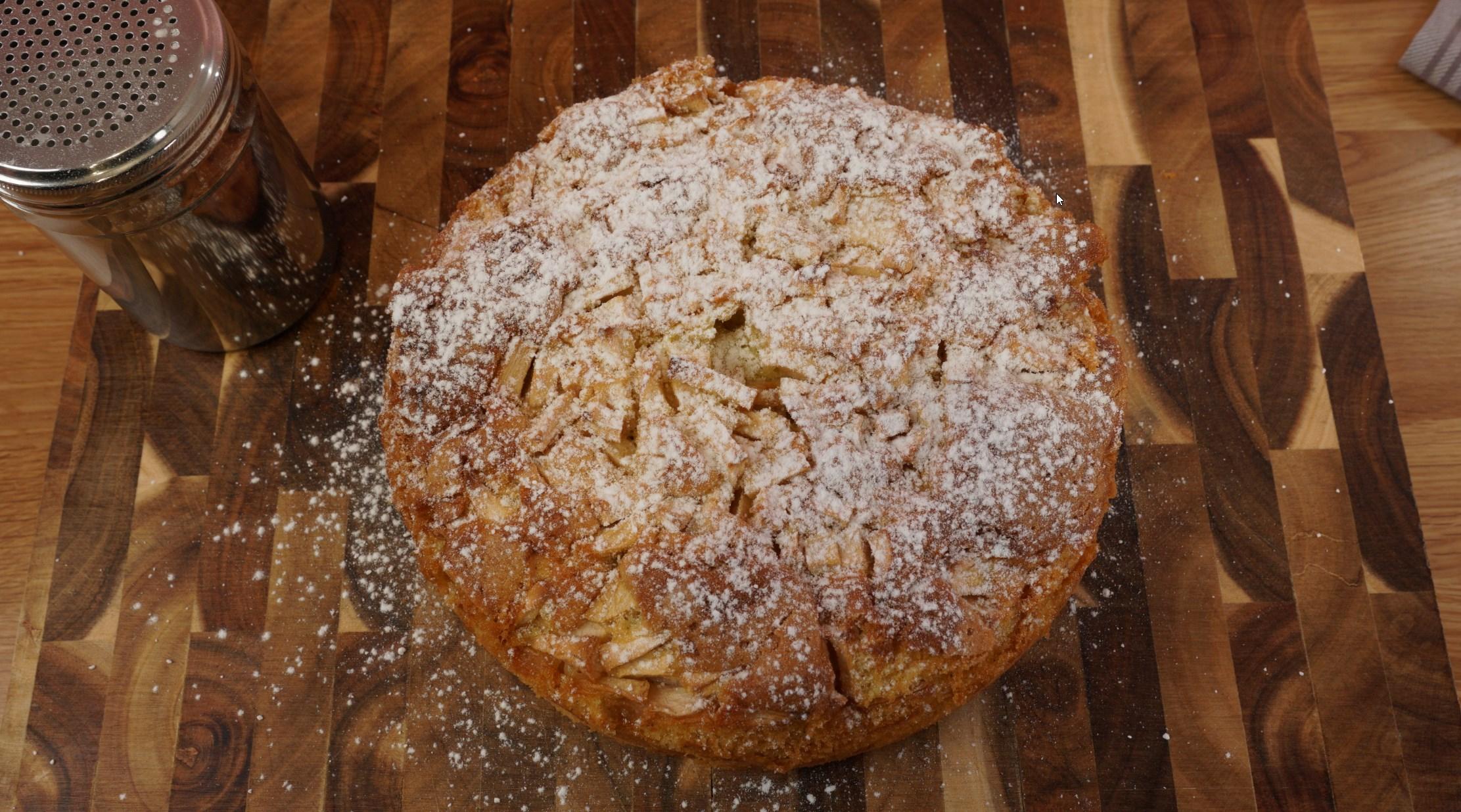 Итальянский яблочный пирог вкусные новости,выпечка,десерты,завтрак,кулинария,кулинарные хитрости,кухни мира,рецепты,сладкая выпечка