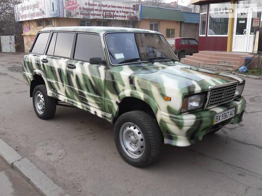 Хотели бы себе на зиму такой ВАЗ-2104, построенный на базе Нивы?