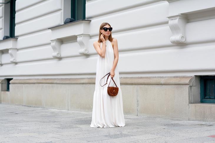 Красивые летние длинные платья — Новинки 2017