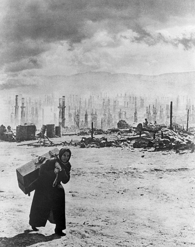 Мурманск после бомбардировок, 1942 год было, история, фото