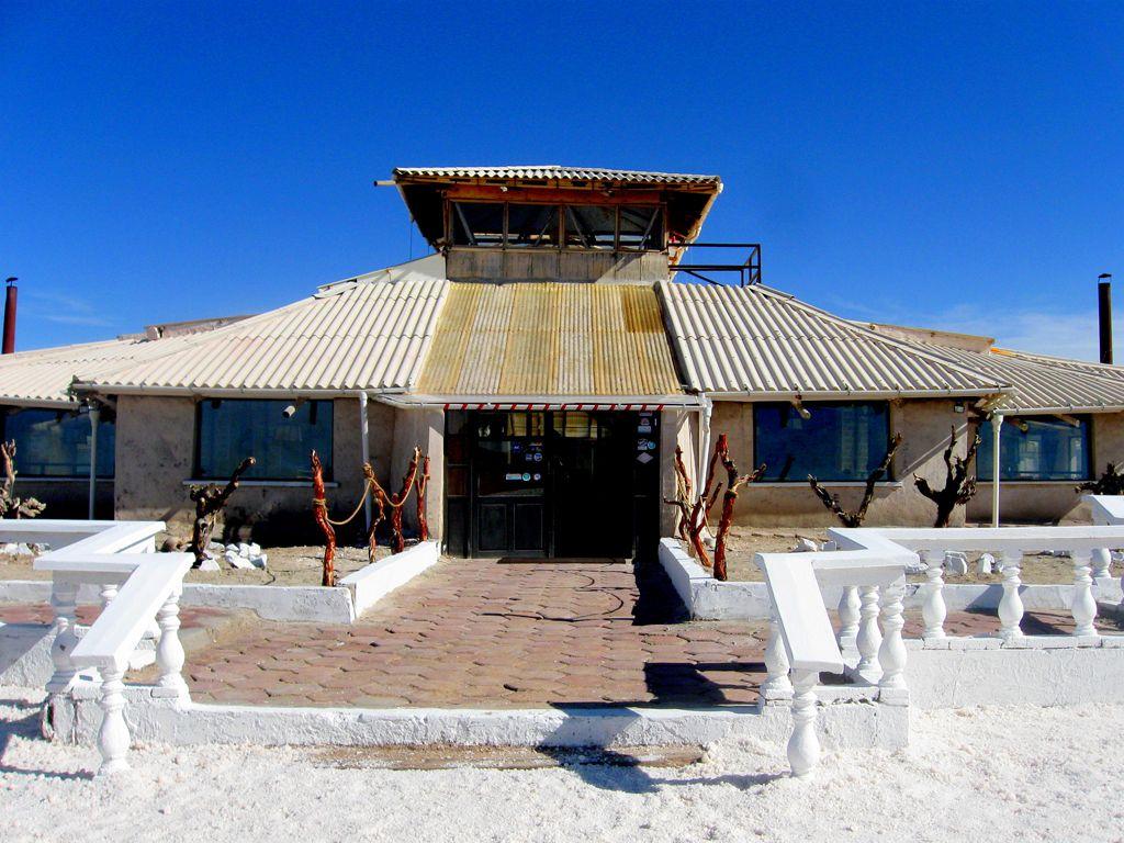 Удивительный отель из соли Паласио-де-Саль в Боливии