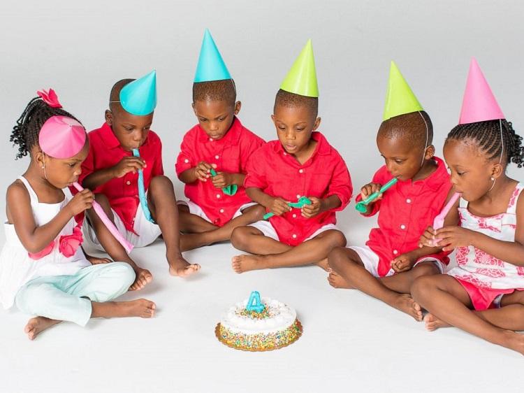 В этой семье родились шестеро малышей. Прошло 6 лет…