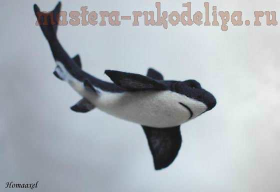 Акула. МК по сухому валянию
