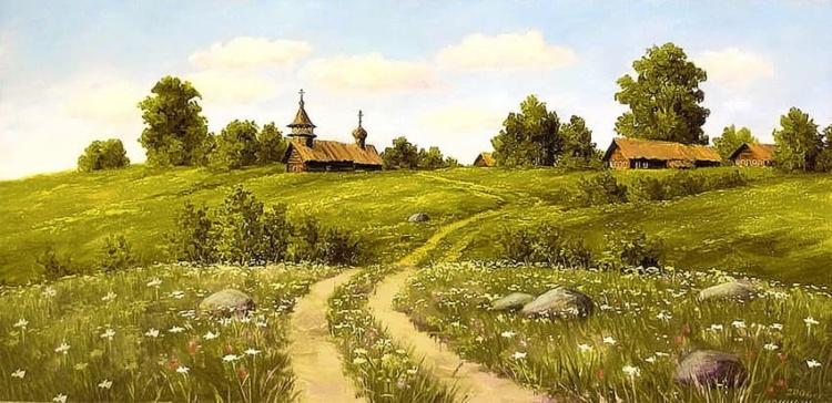 художник Сергей Курицын картины – 23
