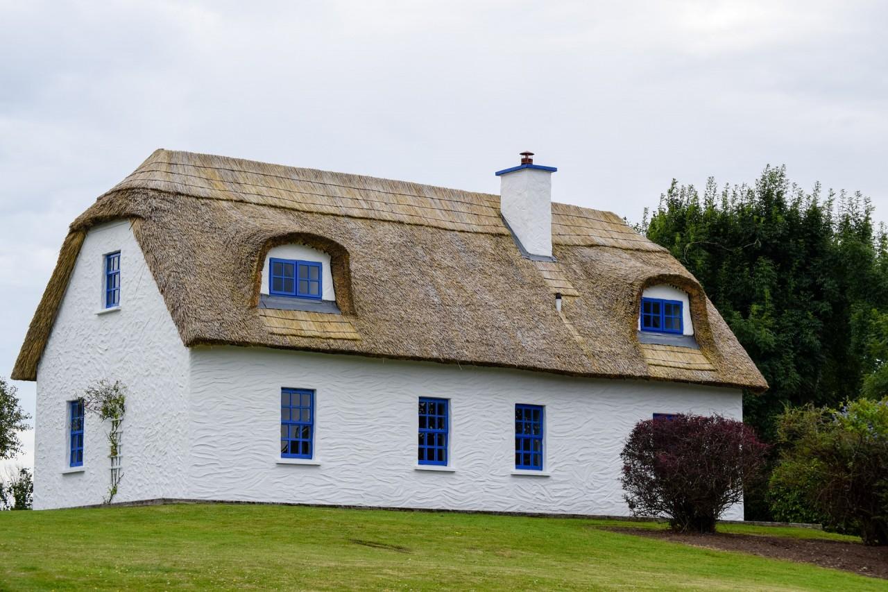 дома с соломенными крышами фото делитесь