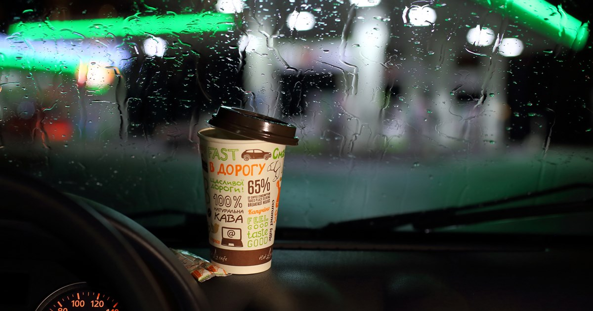 Российские заправки стали больше зарабатывать на продажах кофе