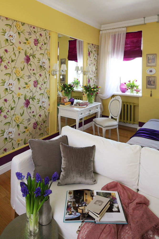 Гостиная, холл в цветах: серый, светло-серый, бежевый. Гостиная, холл в .