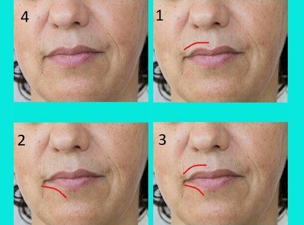 После 50 губы потеряли молодые очертания: простая техника коррекции макияжем за 2 минуты