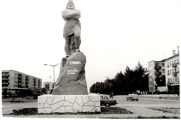 История о том, как в Казахстане сносили памятник Ермаку
