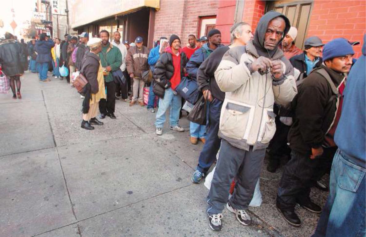 Голодуха в США: 54 миллионам американцев нечего есть