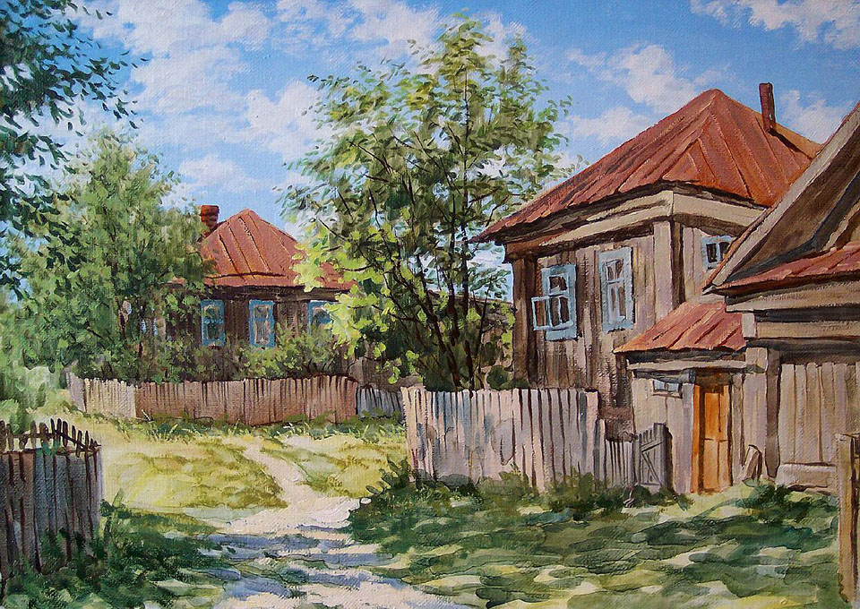 Великолепные картины Юрия Мартюшева