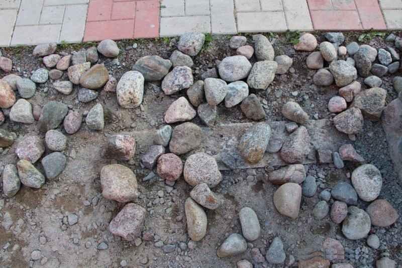Бутовый камень для беседки