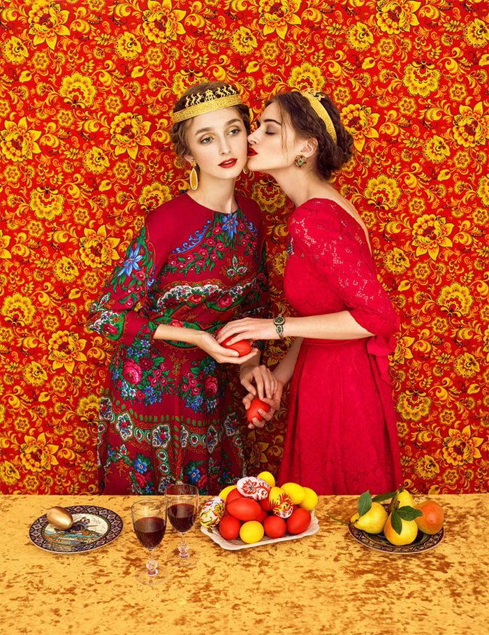 Русский гламур в фотографиях Andrey Yakovlev & Lili Aleeva