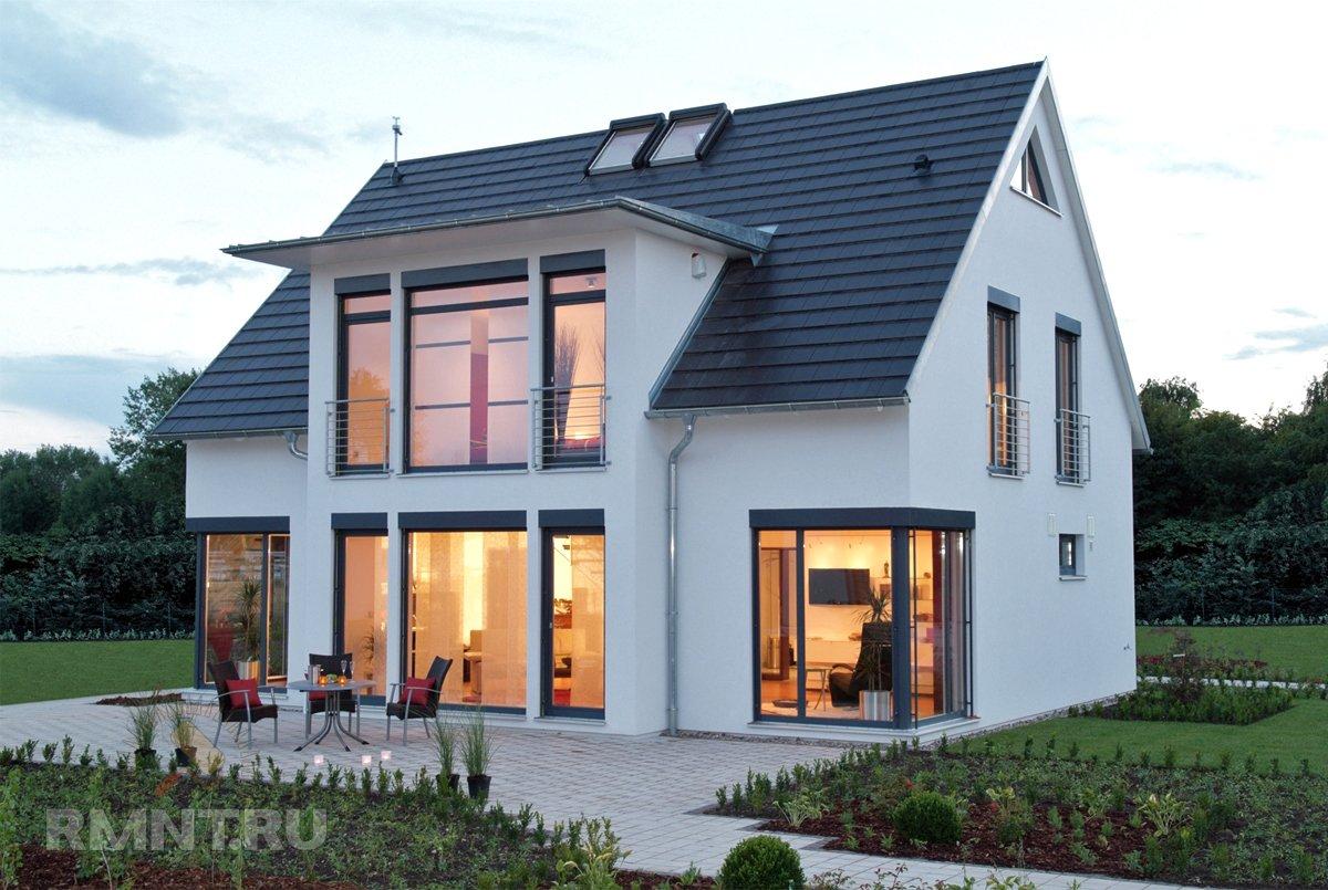 Частные дома с мезонинами: особенности, плюсы, примеры