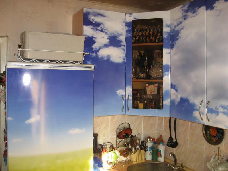Оклейка мебели самоклеющейся пленкой фото