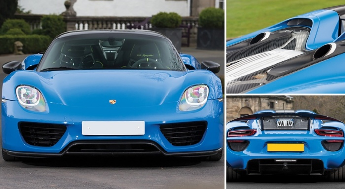 Аукцион Sotheby's: два автомобиль Porsche проданы почти за 4 миллиона долларов