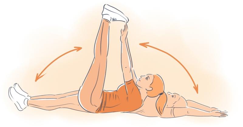 упражнения для похудения живота дома