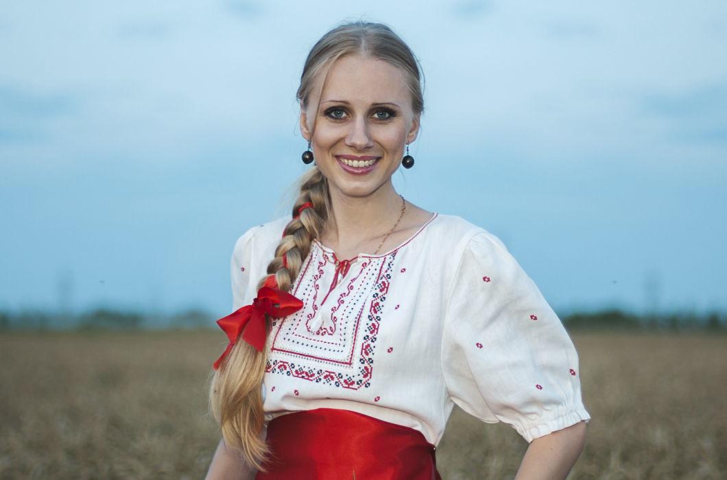 Россия волосы, прическа