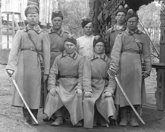"""""""Голубые"""" в Гражданской войне"""