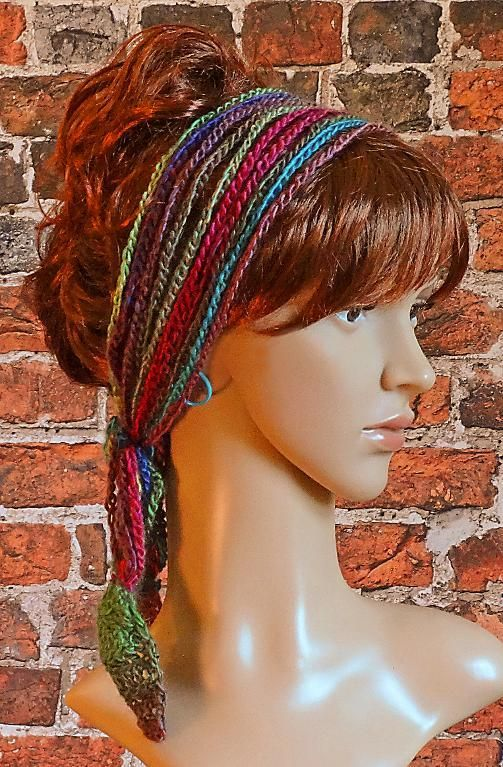 (4) Name: 'Crocheting : Crochet Headband Hairband Boho:
