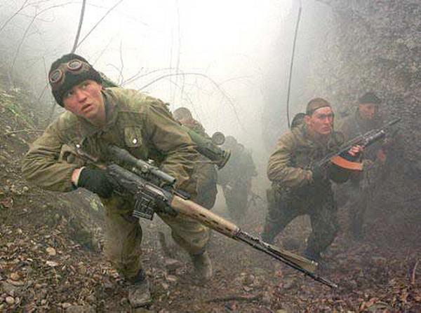 Рассказы о чеченской войне: Господь сохранил