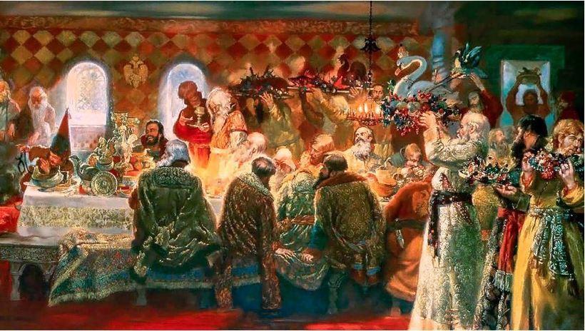 Что подавали на стол русским царям и императорам еда,интересное,история
