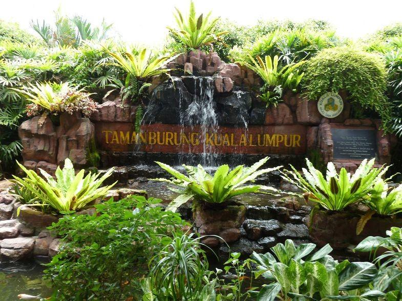 Посещение парка птиц в Куала Лумпуре