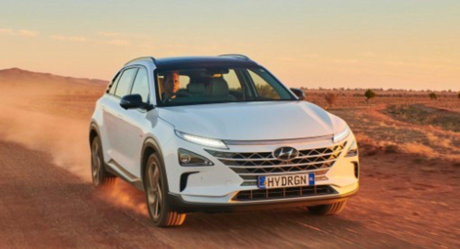 Водородная Hyundai Nexo установила новый рекорд по дальности хода Автомобили