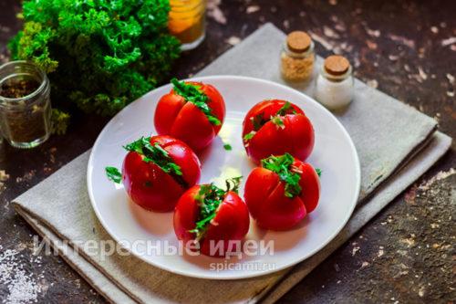 начинить помидоры